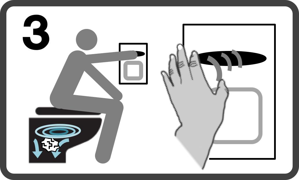 厕所头像矢量图
